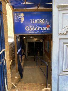 Entrata del Teatro Nuovo Sala Gassman