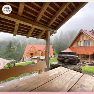 Dolomiti Village: bracere per griglia o fuoco con vista